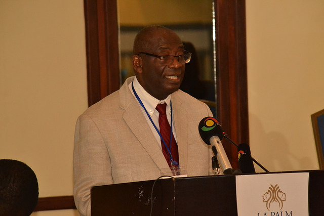 Prof. Ehile at Joint ACE Workshop